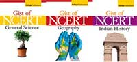 Gist of NCERT Textbook of Geography, Indian History, General Science Combo (Set of 3 Books)