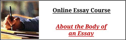 essay about course materials The two synthesis essay questions below are examples of the question type that has been one of the three free-response questions on the ap english language and composition exam as of the may 2007 exam.