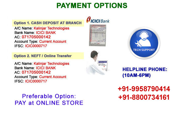 Online payment options in india