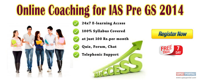 Online Coaching for IAS Exams