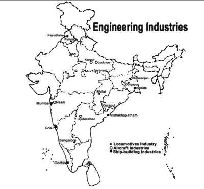 industrial map of india upsc Igp Ias Pre Gs Geography Indian Geography Physical India industrial map of india upsc